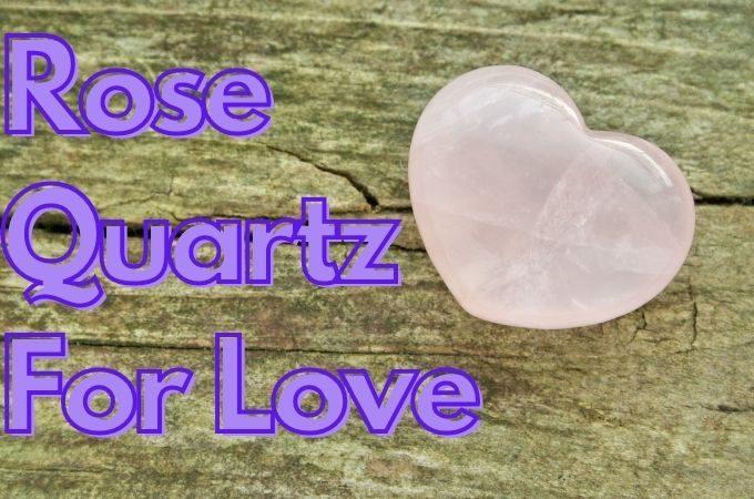 Rose Quartz under pillow For Love