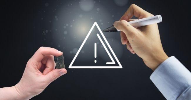 Moldavite Warnings