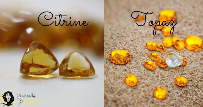 Topaz vs Citrine