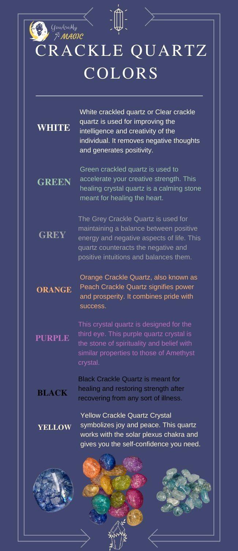 Crackle Quartz Colors properties