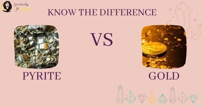 Pyrite Flake vs Gold Flake