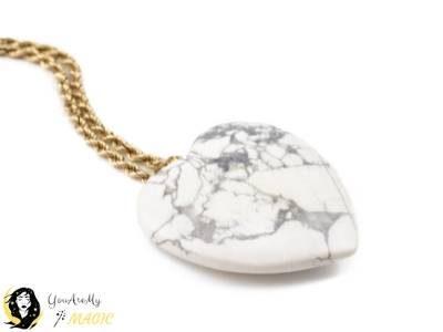 White Howlite Jewelry
