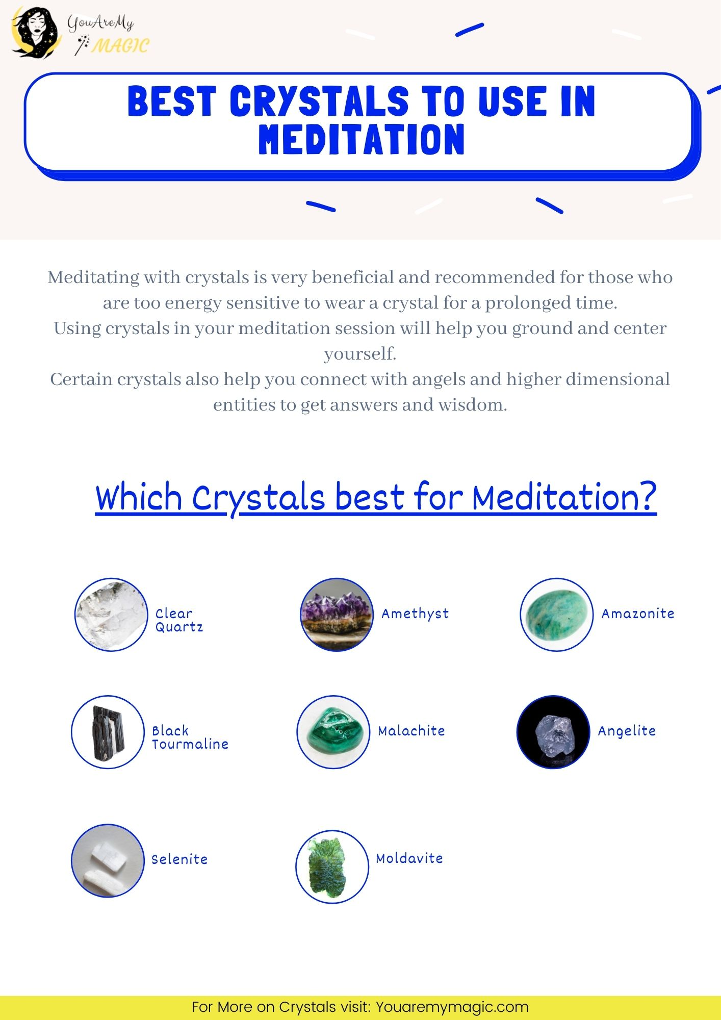 Best crystals to use in Meditation