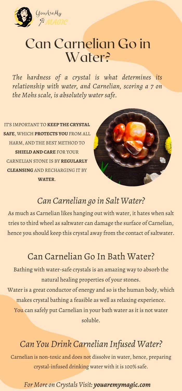 Can Carnelian go in water