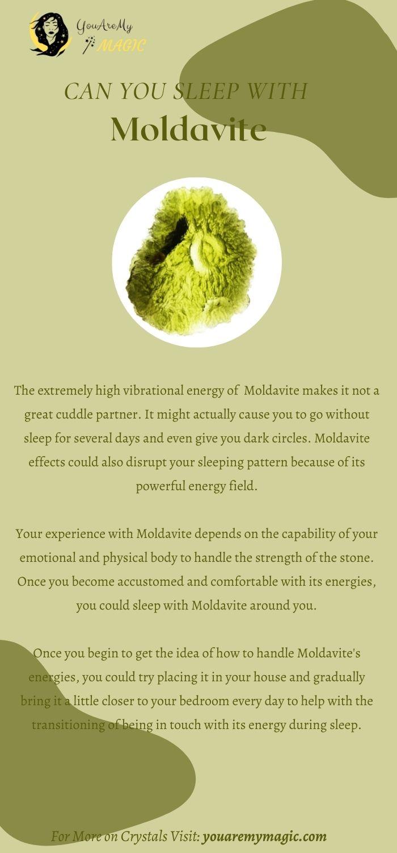 Can you sleep with Moldavite