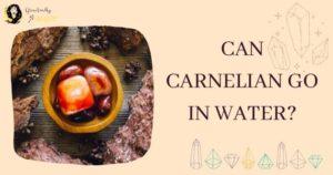 Carnelian Water Safe
