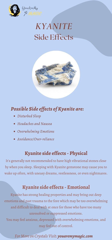 Kyanite stone Side Effects