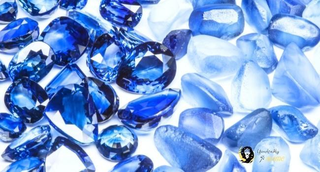 Blue Sapphire for Virgo