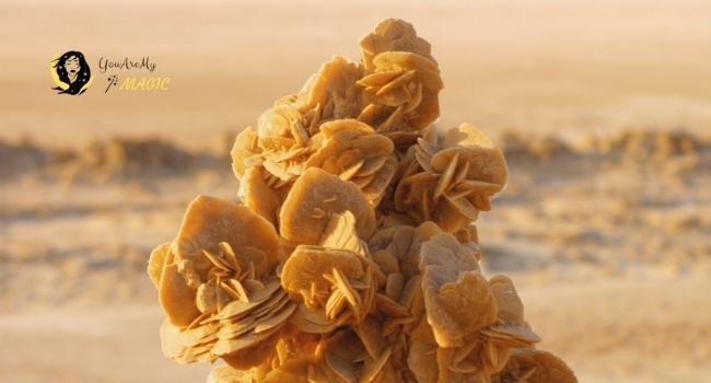 Desert Rose Selenite for Virgo