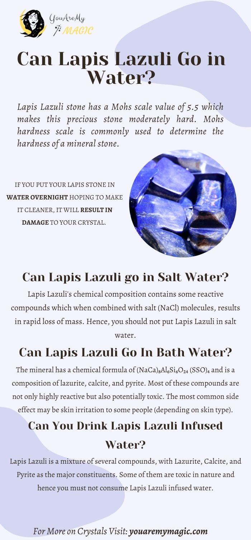 Lapis Lazuli go in water